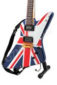 Miniature Guitar Explorer Union Jack
