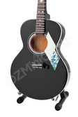 Miniature Acoustic Guitar Black Epiphone