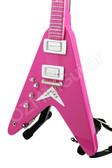 Miniature Guitar Albert King Pink V