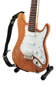 Miniature Guitar Stratocaster Rosewood