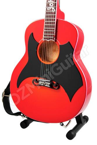 miniature acoustic guitar johnny cash 1957 ozminiguitar. Black Bedroom Furniture Sets. Home Design Ideas