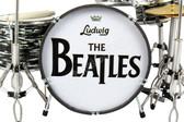 The Beatles Miniature Ludwig Ringo Drum Set