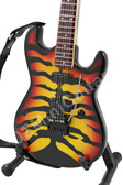 Miniature Guitar Esp George Lynch Sunburst Tiger