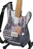 Miniature Guitar Art Series OASIS Morning Glory