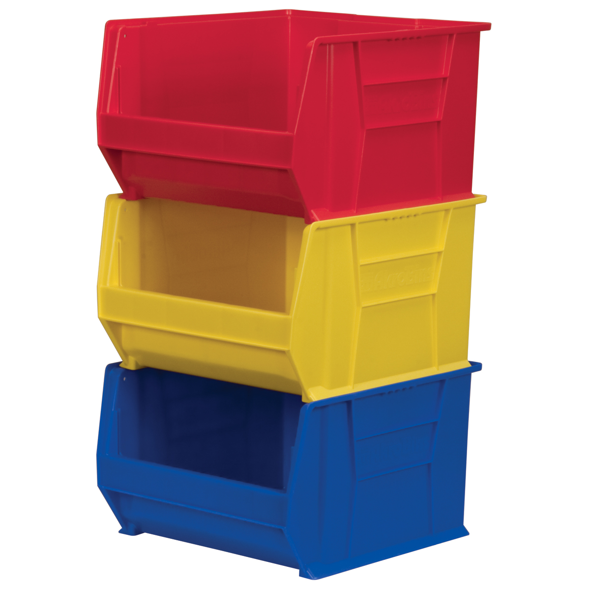 plastic bins and totes