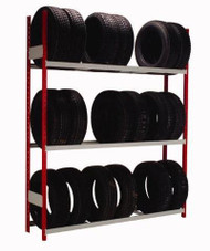 Single Sided Tire Rack
