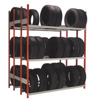 Double Sided Tire Rack