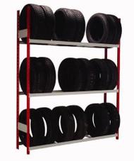 Single Sided Tire Rack