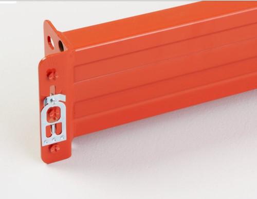 Steelking SK2000 Teardrop Style Pallet Rack Beam. Sold Individually.