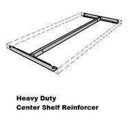 Heavy Duty Center Shelf Reinforcement