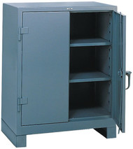 1110 Lyon Heavy Duty Storage Cabinet Counter High