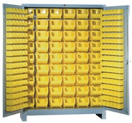 1141 Lyon All Welded Bin Storage Cabinet