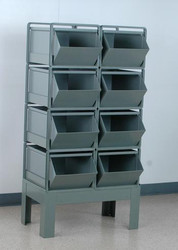 Stackrack Unit w/ #4 Stackbins