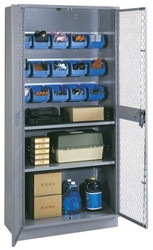 1153B Lyon All Welded Visible Storage Cabinet