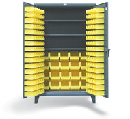 "36-BBS-243 Bin Cabinet with 3 Shelves 36""Wx24""Dx72""H"