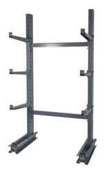 Cantilever Rack Single Sided Starter with 6 arms