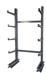 Single Sided Cantilever Rack with 8 Arms