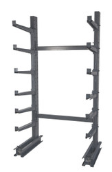 Meco Single Sided Cantilever Rack with 12 Arms