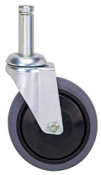 "Swivel Stem Caster Set 5""x1-1/4"""