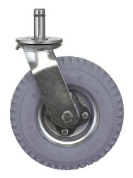 "Pneumatic Swivel Stem Caster 8""x2-1/2"""