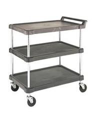 polymer shelf cart