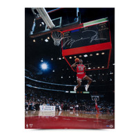 MICHAEL JORDAN Signed 88 Scoreboard 30x40 Photo.