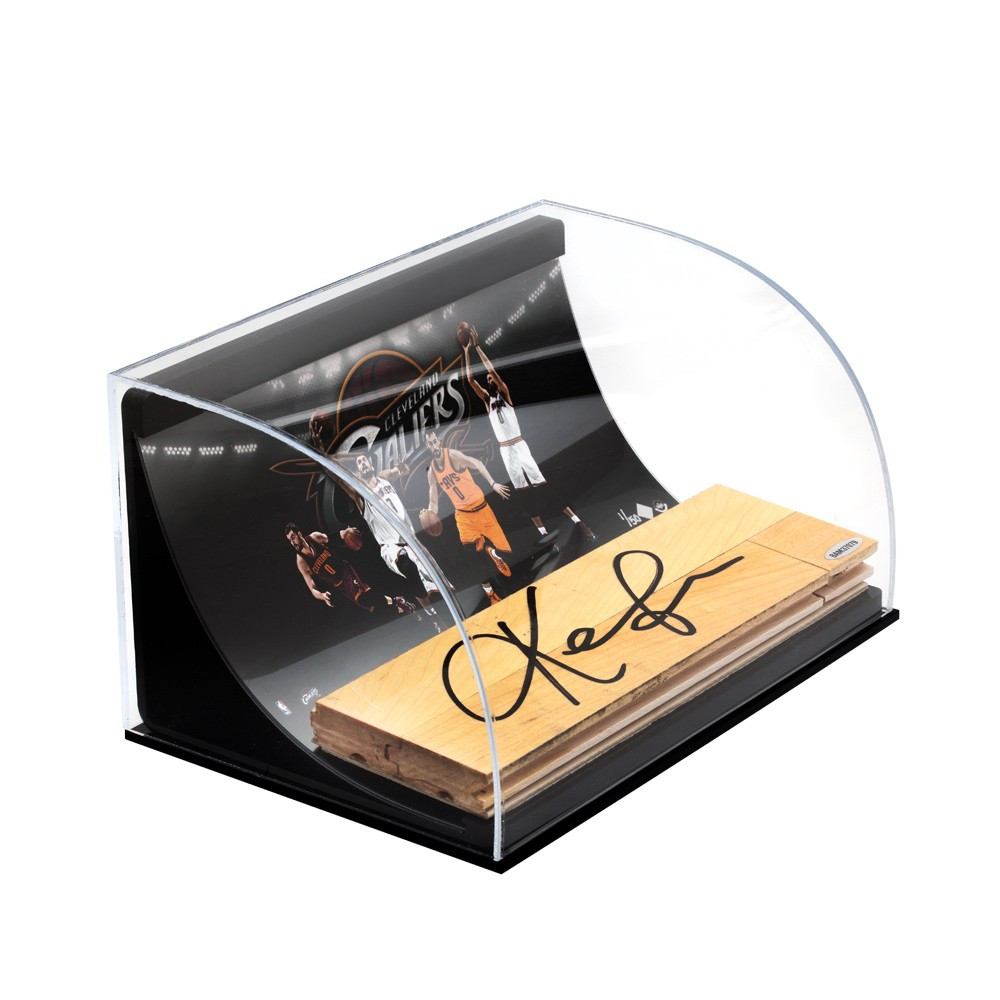 KEVIN LOVE Signed NBA Game Used Floor.