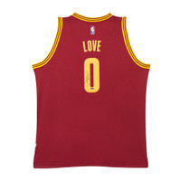 KEVIN LOVE Signed Cleveland Cavaliers Swingman Away Jersey UDA.