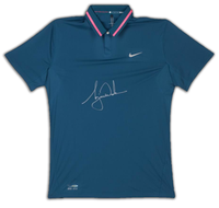 TIGER WOODS Signed Nike Performance Graphic Tilt Polo LE of 25 UDA.