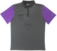 RORY McILROY Autographed Purple & Grey Nike Polo UDA LE 25