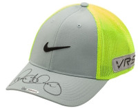 RORY McILROY Autographed Grey & Volt Nike Hat UDA LE 25