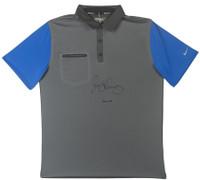 RORY McILROY Autographed Grey & Blue Nike Polo UDA LE 10