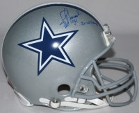 "JAY NOVACEK Signed LE Cowboys Full-Size Authentic Pro-Line Helmet Inscribed ""3X SB Champs"" STEINER COA LE 10"