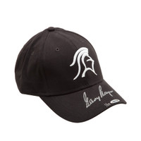 GARY PLAYER AUTOGRAPHED BLACK KNIGHT HAT UDA LE 25