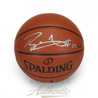 BLAKE GRIFFIN Autographed In Silver Spalding Replica Basketball PANINI