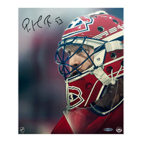 PATRICK ROY Autographed Up Close & Personal 20 x 24 Canvas Photo UDA