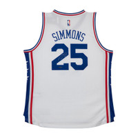 BEN SIMMONS Autographed 76ers Home Jersey UDA