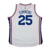 BEN SIMMONS Autographed & Inscribed 76ers Home Jersey UDA