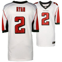 "MATT RYAN Atlanta Falcons Autographed Nike White Elite Jersey with ""16 NFL MVP"" Inscription FANATICS"