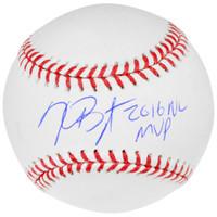 KRIS BRYANT Autographed 2016 MVP Inscribed Baseball FANATICS