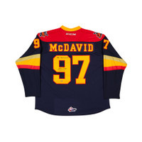 CONNOR MCDAVID Autographed & Inscribed Erie Otters Jersey UDA