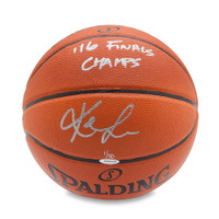 KEVIN LOVE Autographed & Inscribed Spalding Indoor/Outdoor Basketball UDA LE 50