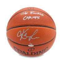 KEVIN LOVE Autographed & Inscribed Spalding Indoor/Outdoor Basketball UDA LE 50