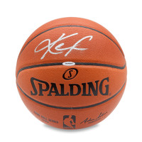 KEVIN LOVE Autographed Spalding Indoor/Outdoor Basketball UDA