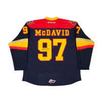 CONNOR MCDAVID Autographed Erie Otters Jersey UDA