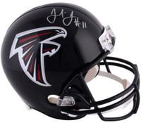 JULIO JONES Autographed Atlanta Falcons Full Size Helmet FANATICS