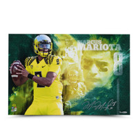 "MARCUS MARIOTA Autographed ""College Sensation"" 16 x 24 Photo UDA LE 28"