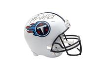 MARCUS MARIOTA Signed Tennessee Titans Schutt Replica Helmet UDA