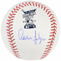 AARON JUDGE Autographed Authentic 2017 Home Run Derby Baseball FANATICS