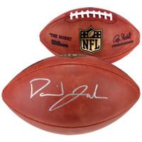 DAVID JOHNSON Autographed Authentic NFL Football FANATICS